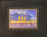 Alexei Butirskiy Artist Union Station (Original) - Framed