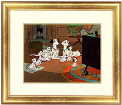 One Hundred and One Dalmatians Art WDCC Figurines
