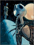 Nightmare Before Christmas Art Walt Disney Animation Artwork We're Simply Meant To Be