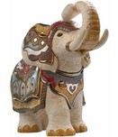 De Rosa Wildlife Art White Indian Elephant