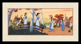 Beauty And The Beast Art Walt Disney Animation Artwork Bonjour Belle