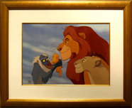 Lion King Art Walt Disney Animation Artwork The Circle of Life (Framed)