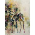 Katy Jade Dobson Wildlife Art Doe Eyed