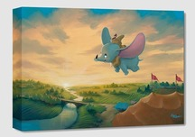 Dumbo Animation Art Walt Disney Animation Artwork Flight Over the Big Top