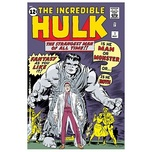 The Incredible Hulk Superhero Artwork Origins: The Incredible Hulk #1