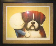 Doug Hyde Whimsical Art Mad Max (Framed)