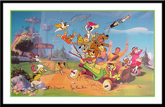 Scooby Doo Art Hanna-Barbera Artwork 40 Years of Hanna-Barbera