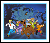 Scooby Doo Art Hanna-Barbera Artwork Relp, It's the Green Ghost