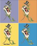 Michigan J Frog Art Warner Brothers Animation Artwork Michigan Rag
