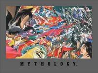 Alex Ross Superhero Artwork Mythology: Good Vs. Evil (Paper)