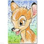 Bambi Film Art Walt Disney Animation Artwork The Buck Stops Here