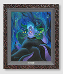 Little Mermaid Art Walt Disney Animation Artwork Ursula and Her Messengers