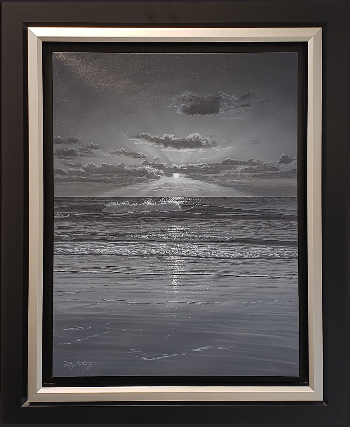 Phillip Anthony Untitled (Original, Framed)