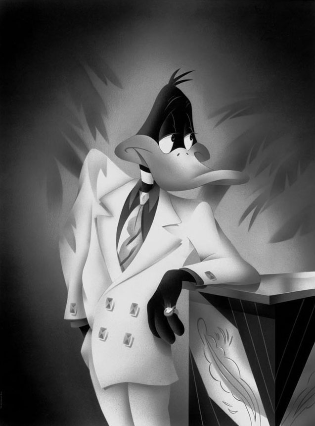 Warner Brothers Portrait Series - Daffy Duck