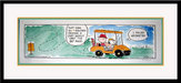 Peanuts Art Limited Edition Lithograph 90 Degree Rule