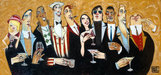 the art of todd white Limited Edition Giclee on Canvas American Spirits