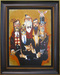 the art of todd white Limited Edition Giclee on Canvas Band of Thugs - Framed