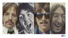 Sebastian Kruger Art Limited Edition Giclee on Paper Fab 4 - Beatles