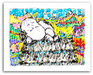 Peanuts Art Limited Edition Giclee on Paper Bungalow Six - Milky Way