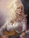 Sebastian Kruger Art Original Acrylic on Canvas Dolly - Dolly Parton (Original Painting)