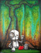 Fabio Napoleoni Limited Edition Giclee on Paper If I Could Only Go Back  (AP Paper)