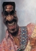 Sebastian Kruger Art Original Acrylic on Board Ike - Ike Turner (Original Painting)