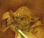 Mike Kupka Limited Edition Giclee on Canvas Jedi Master