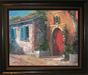 Limited Edition Giclee on Canvas The Red Door