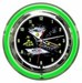 Godard Martini Art Clock Neon Clock -  Olive Party