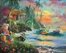 Limited Edition Giclee on Canvas Paradise Season