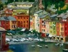 Eugene Segal Limited Edition Giclee on Canvas Portofino