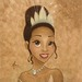 Mike Kupka Limited Edition Giclee on Canvas Princess Tiana Portrait