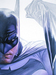 Batman Art Limited Edition Giclee on Canvas Mythology: Rough Justice - Batman