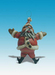 Todd Warner Sculpture Santa Ornament