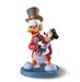Scrooge McDuck Art Sculpture Tidings of Joy and Goodwill - Scrooge and Tiny Tim