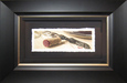 Thomas Arvid Original Water Color Silver Oak Pull (Framed) Original