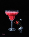 Godard Martini Art Limited Edition Giclee on Canvas Strawberry Margarita (AP)
