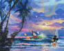 Limited Edition Giclee on Canvas Summer Escape