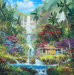 Limited Edition Giclee on Canvas Surrender to Aloha