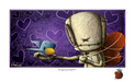 Fabio Napoleoni Limited Edition Giclee on Paper The Biggest Gift of All (Itty Bitty)