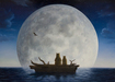 Robert Bissell Limited Edition Giclee on Canvas The Moonlighters (Collector Edition)