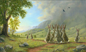 Robert Bissell Limited Edition Giclee on Canvas The Decision