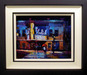 Michael Flohr Original Oil on Canvas To the Bluebird (Framed)
