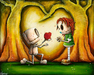 Fabio Napoleoni Limited Edition Giclee on Canvas You Can Have Every Bit Of It (AP)