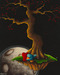 Fabio Napoleoni Limited Edition Giclee on Canvas Courier Of Love (AP)