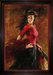 Artist Andrew Limited Edition Giclee on Canvas Fan Dancer