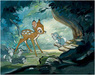 Bambi Film Art Limited Edition Giclee on Canvas Hello Young Prince - Bambi