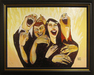 the art of todd white Limited Edition Giclee on Canvas If I Didn't Laugh, I'd Cry