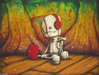 Fabio Napoleoni Limited Edition Giclee on Paper Listen Carefully (AP)