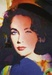 James Gill Lithograph on Paper Liz Taylor P14